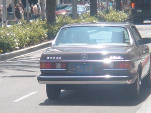 W123 en HOLLYWOOD